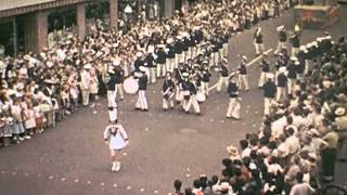 preview picture of video 'Potato Festival Elizabeth City, NC 1951-52 Pt1'