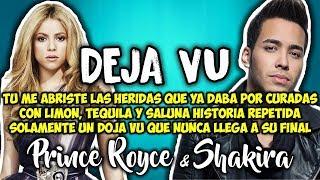 Prince Royce, Shakira - Deja vu (Letra)