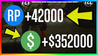 How To Make $352,000  42,000 RP PER GAME in GTA 5 Online   NEW Best Unlimited Money Guide/Method