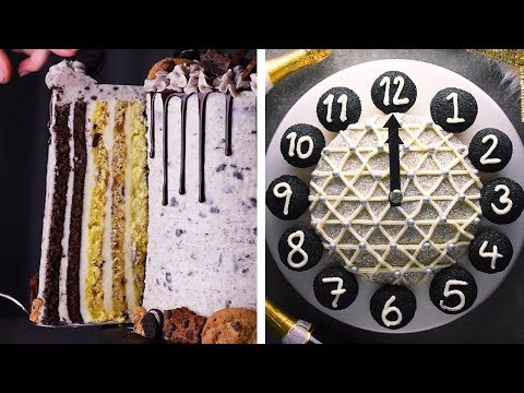Get Your Roll on with This Epic Vertical Layer Cake! | Creative Dessert Recipes by So Yummy