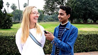 WOULD YOU DATE AN INDIAN GUY? || ASKING FOREIGN GIRLS || XENOPHILES