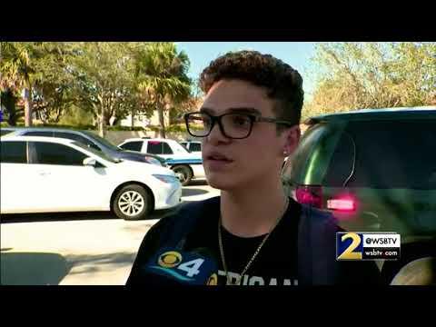 We joked he'd shoot up the school, says Florida suspect's classmate