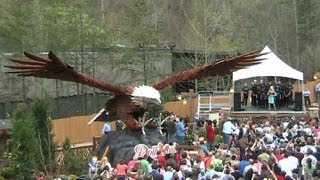 Dolly Parton opens Wild Eagle HD Dollywood