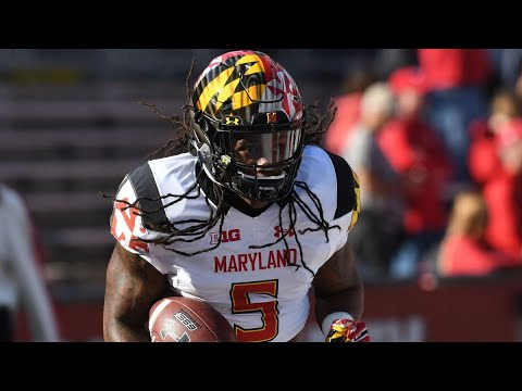 ELECTRIC⚡⚡⚡ Anthony McFarland Maryland Highlights