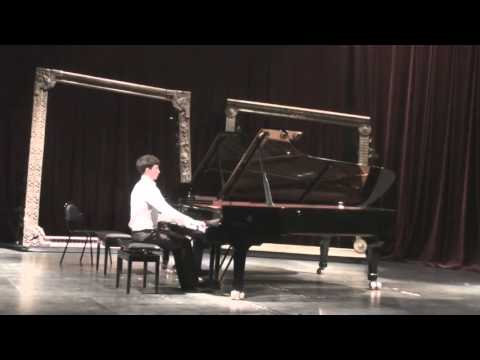 Brahms. Sonata in C Major. Part 1