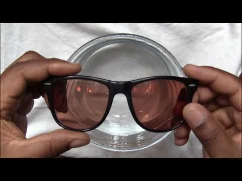 How To Remove & Replace Lens from Vintage Ray-Ban Wayfarer Sunglasses
