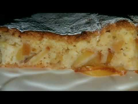 Пирог с яблоками. Pie with apple