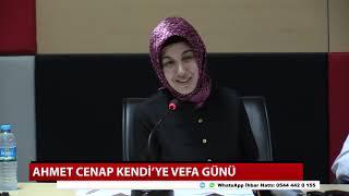 Ahmet Cenap Kendi'ye vefa günü