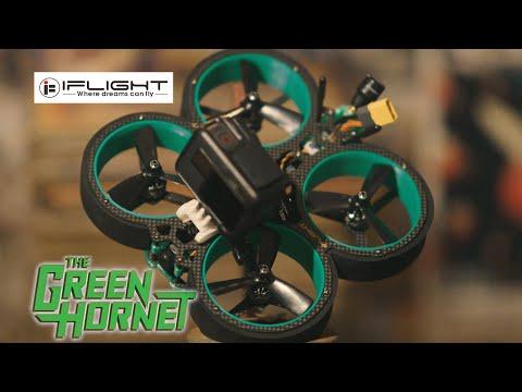 iFlight GREEN HORNET review e teste [MELHOR CINEWHOOP CUSTO/BENEFÍCIO]