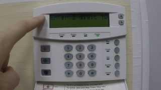 User code change on Interlogix Networx NX8 V2 LCD Keypad - How To