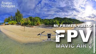 Mi primer vuelo ✈ FPV - FREESTYLE - Mavic air 2 ????????