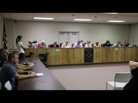 Donora Council Meeting 07-11-2019