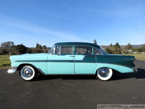 Video of 1956 Bel Air Offered by Left Coast Classics - MUOX