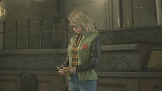 Becca Woolett From Resistance Enters RPD - Resident Evil 2 Remake PC Mod
