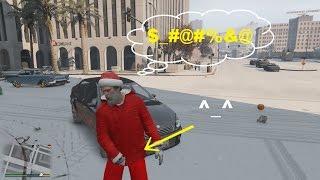 GTA 5 Mod - Ông Già Noel Đi Phát Quà Giáng Sinh Trong GTA V