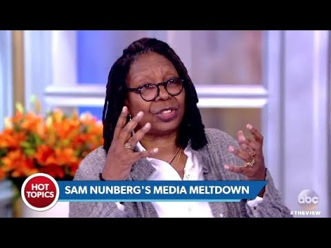 Whoopi: Was It Wrong For CNN To Air  Sam Numberg Possibly Drunk?  (The View)