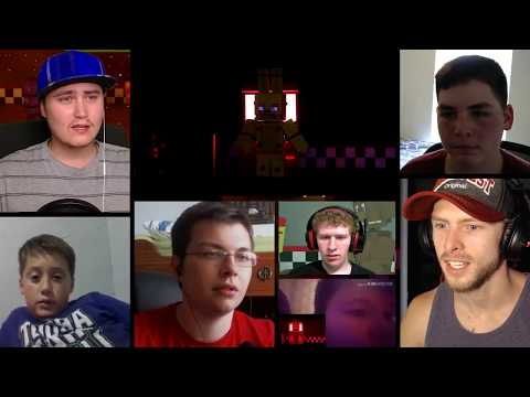 """FIVE NIGHTS AT FREDDY'S SONG"" Minecraft Video 