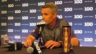 2015 PAC-12 Media Day - Washington head football Coach Christian Petersen - Press Conference