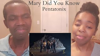 MARY DID YOU KNOW Pentatonix Cover