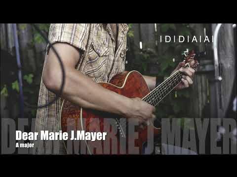 Dear Marie John Mayer Backing track   A major