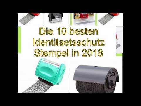 Die 10 besten Identitaetsschutz Stempel in 2018