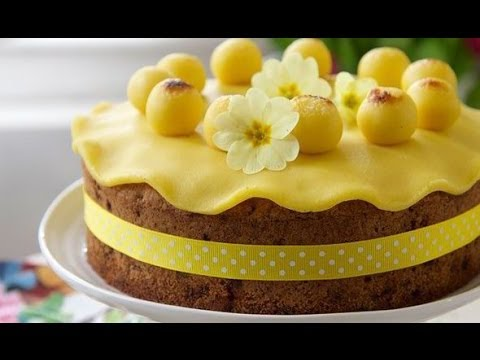 Video Easy Easter Cakes - Easter Cake Ideas - Simnel Cake Recipe