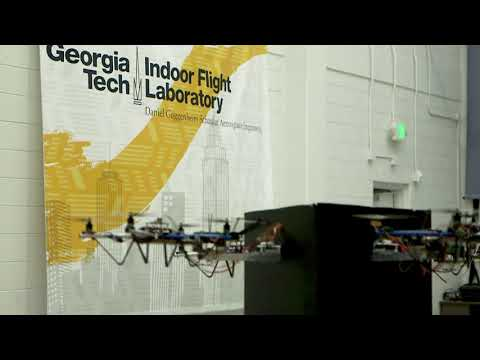 Control system helps drones team up to carry packages