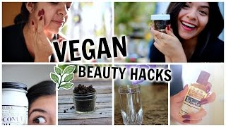 Vegan Beauty Hacks! Natural Remedies & DIY's + Giveaway