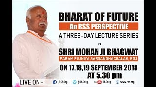 BharatofFuture-LectureSeriesbyDrMohanBhagwat-Day1#RSSVision