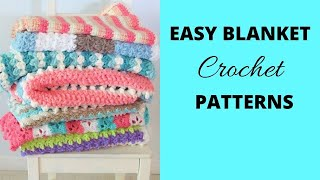 Popular Free Blanket Crochet Patterns