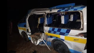 Five dead in Machakos accident - VIDEO