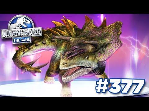 NEW SUPER HYBRID MONOSTEGOTOPS!!!   Jurassic World - The Game - Ep377 HD