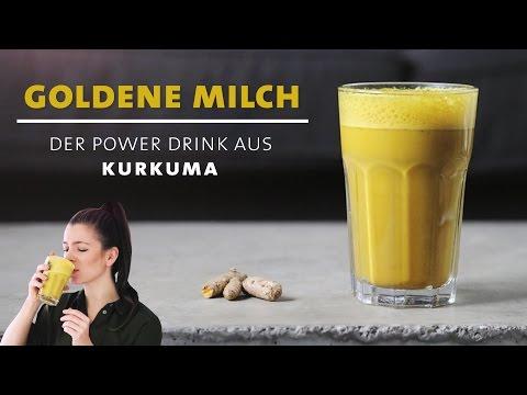 Goldene Milch – Kurkuma Power Drink – Stärkt dein Immunsystem und hält gesund