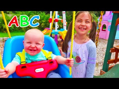 ABC Song | Alphabet Phonics Nursery Rhyme Music Video by Hailey