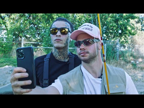 FLY FISHING WITH LIL SKIES -SH*THOLE