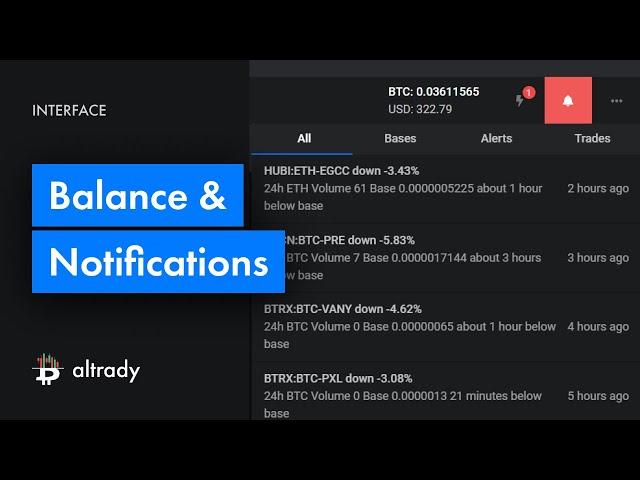 Balance & Notifications