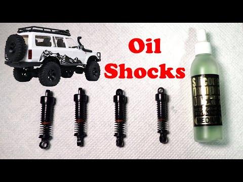 EazyRC Patrion - Oil filled shock mod