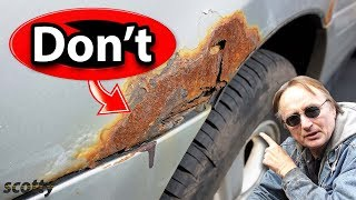 If You Do This, You'll Never Have to Repair Rust on Your Car