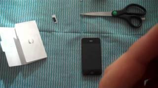 iPhone 4S Einrichten und SIM Karte installieren - felixba94