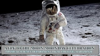 A FLY TO THE MOON, MOON DAY CELEBRATIONs 2K18