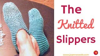 The Knitted Slippers