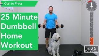 25 Minute Full Body workout - Dumbbells by ACHV PEAK