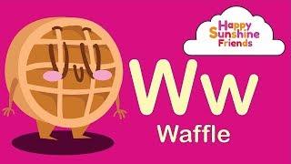 Kids Letter Recognition Video | ABC Dessert For Kids