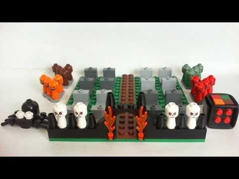 Vidéo LEGO Jeux de société 3837 : Monster 4