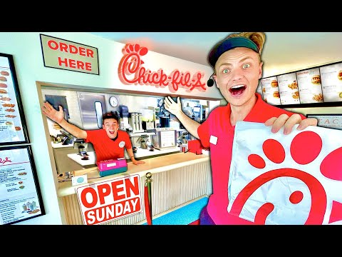 , title : 'I Built a REAL Chick-fil-A in my House!!!
