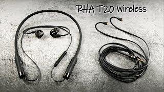 RHA T20 Wireless | Kabel oder Bluetooth? Beides!!!