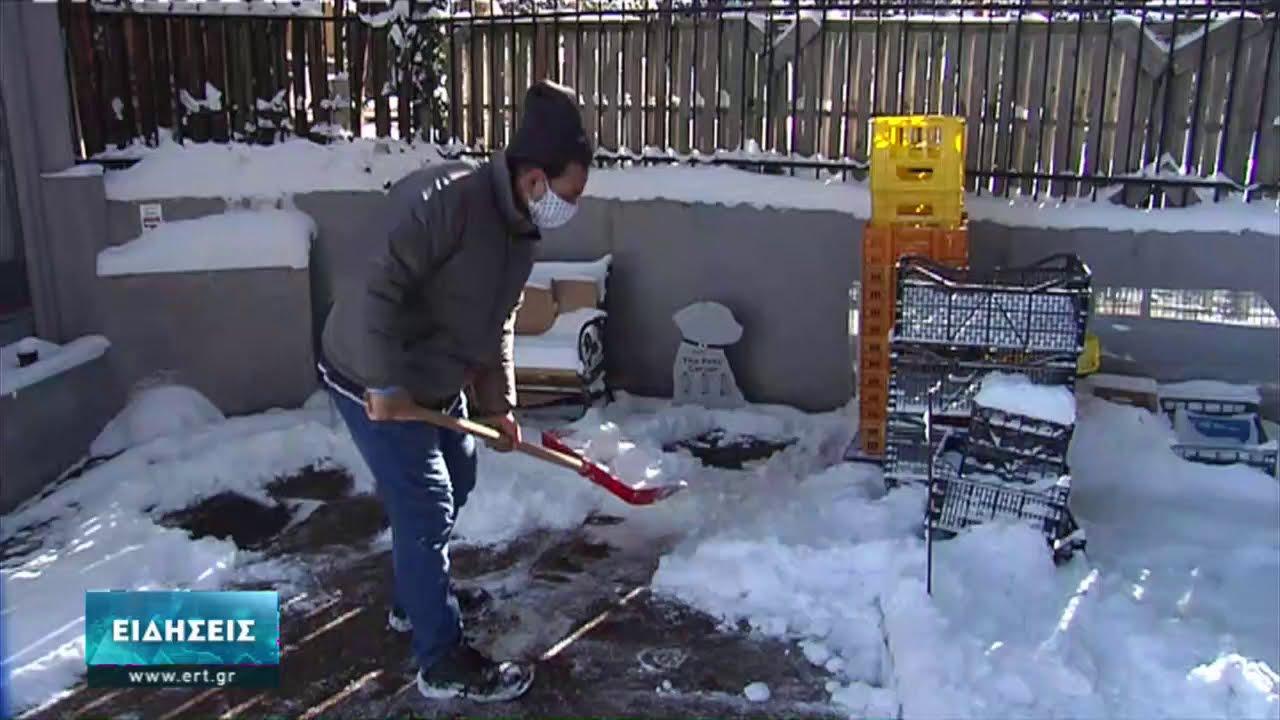 Προσοχή λόγω παγετού στους δρόμους της Θεσσαλονίκης | 15/02/2021 | ΕΡΤ