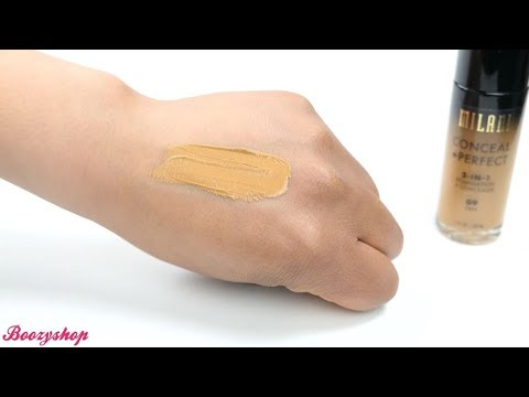 Milani Milani Conceal & Perfect 2-in-1 Foundation and Concealer Tan