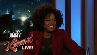 Jimmy Kimmel Live (25.09.18) - Viola Davis on How to Get Away with Murder & New Children's Book