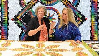 Luana Rubin interviews Jacqueline de Jonge regarding the color and embellishment of her exquisite quilts (Part 2).